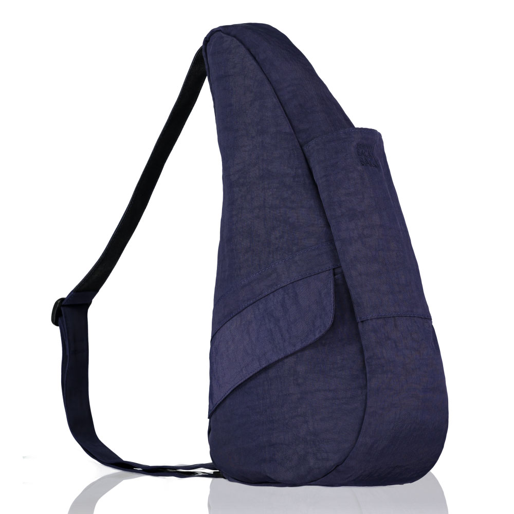 The Healthy Back Bag The Classic Collection Textured Nylon S Blue Night