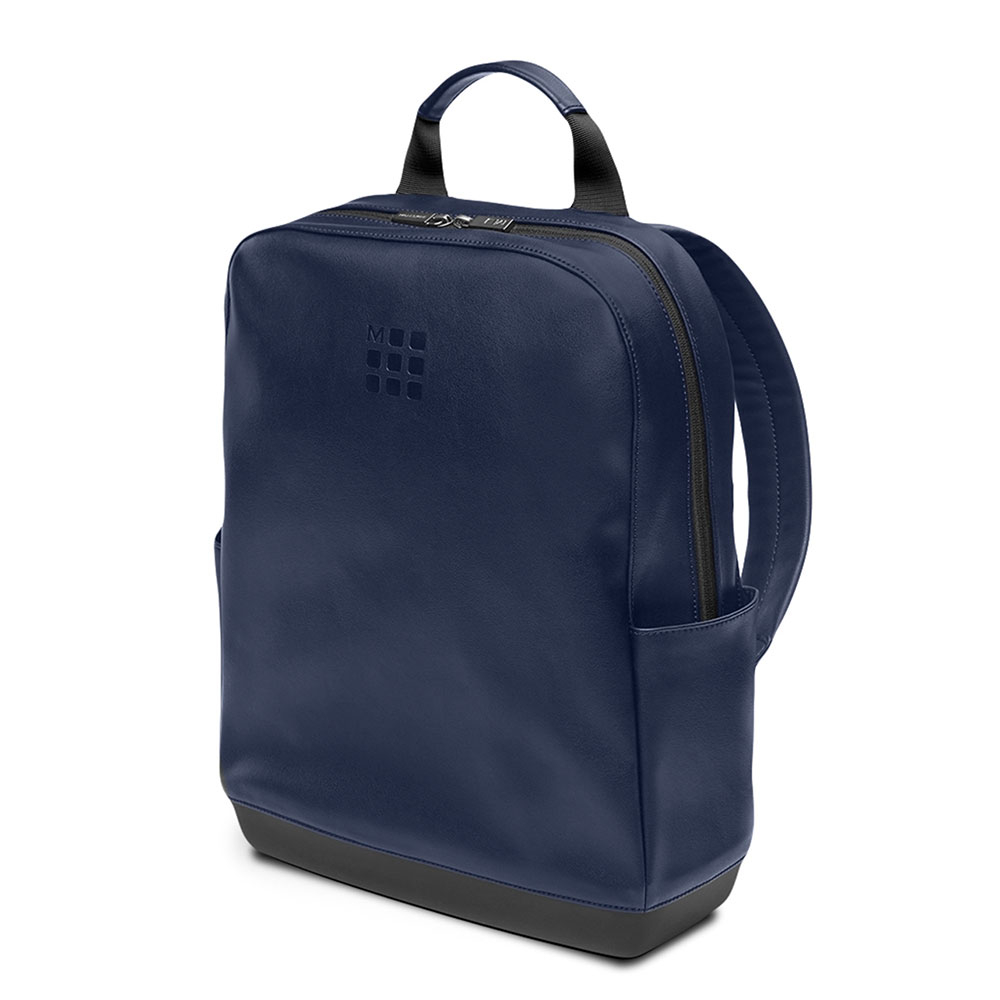 Moleskine Classic Leather Backpack Sapphire Blue