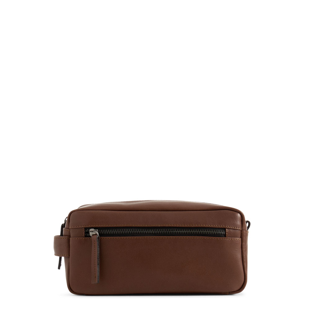 Still Nordic Clean Toiletry Bag Brown