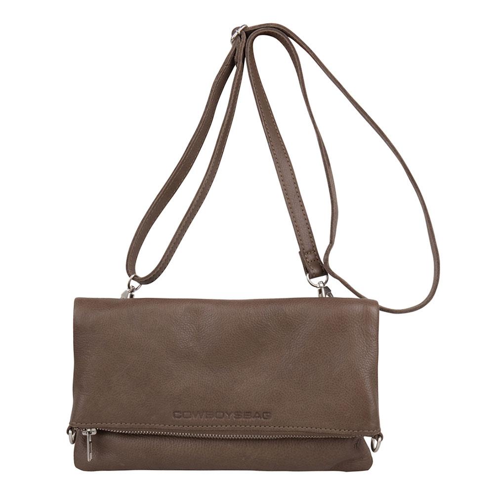 Cowboysbag Bag Burke Schoudertas Mud 2128