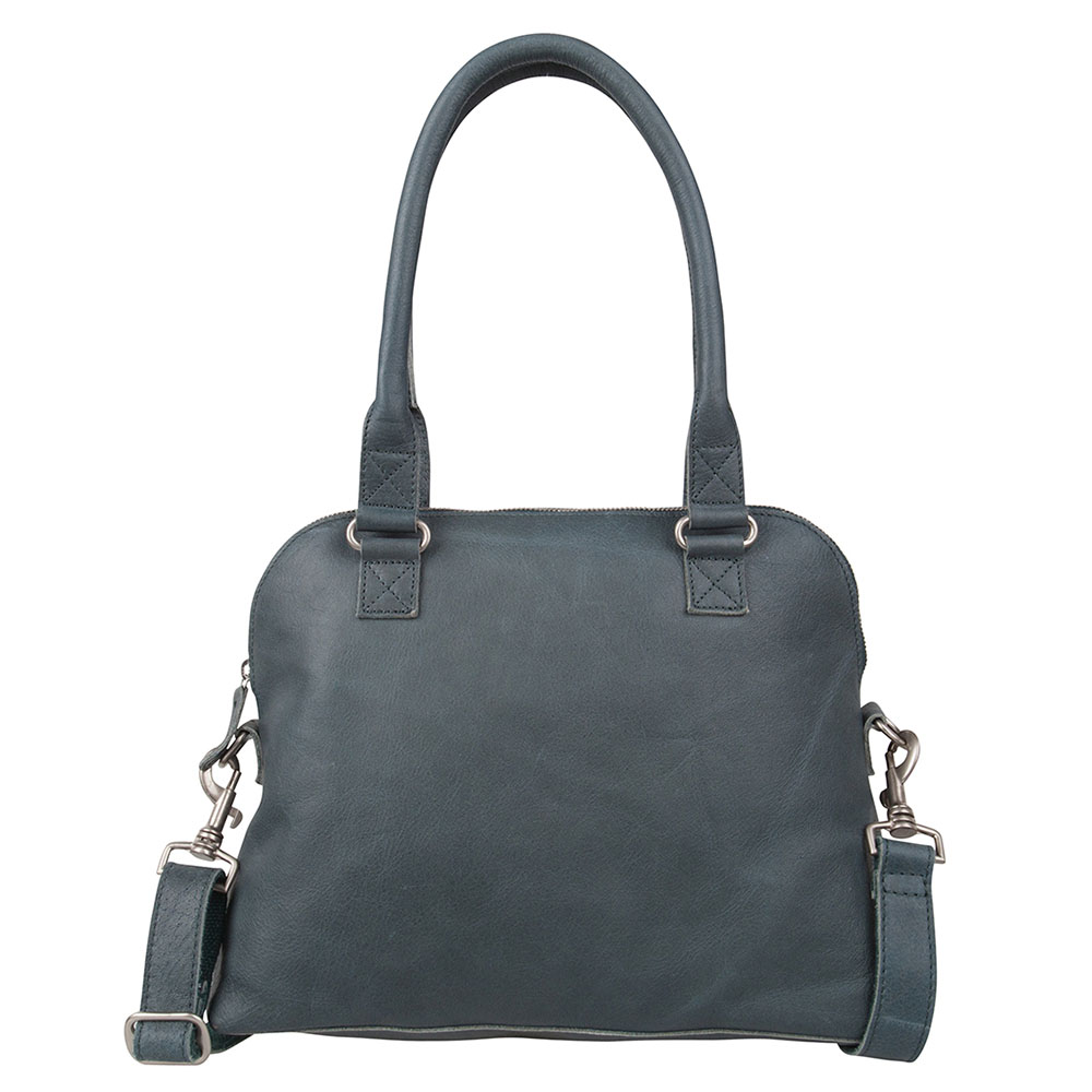 Schoudertassen Cowboysbag Cowboysbag Bag Carfin Schoudertas Petrol 1645