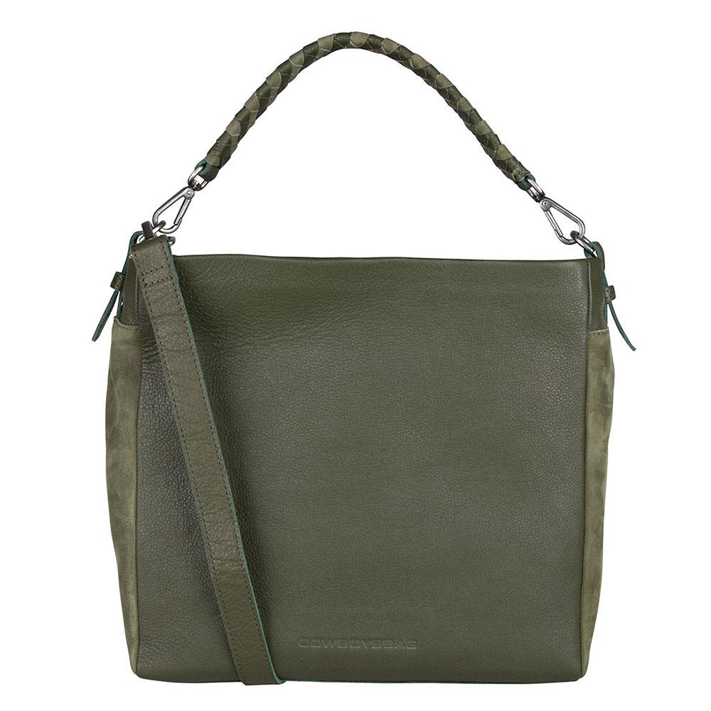 Cowboysbag Bag Diego Schoudertas Green 2242