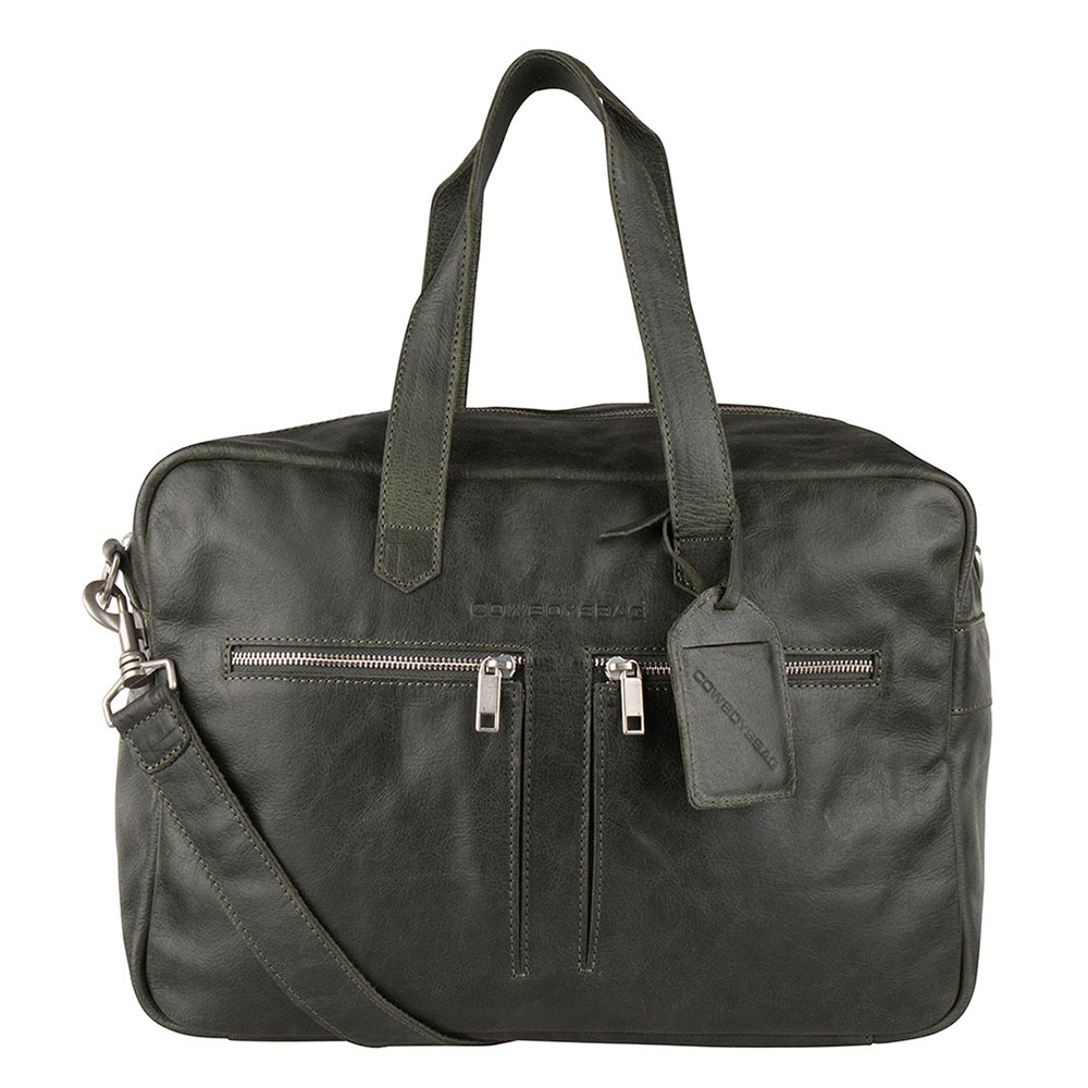 Cowboysbag Bag Kyle Schoudertas Dark Green 2170