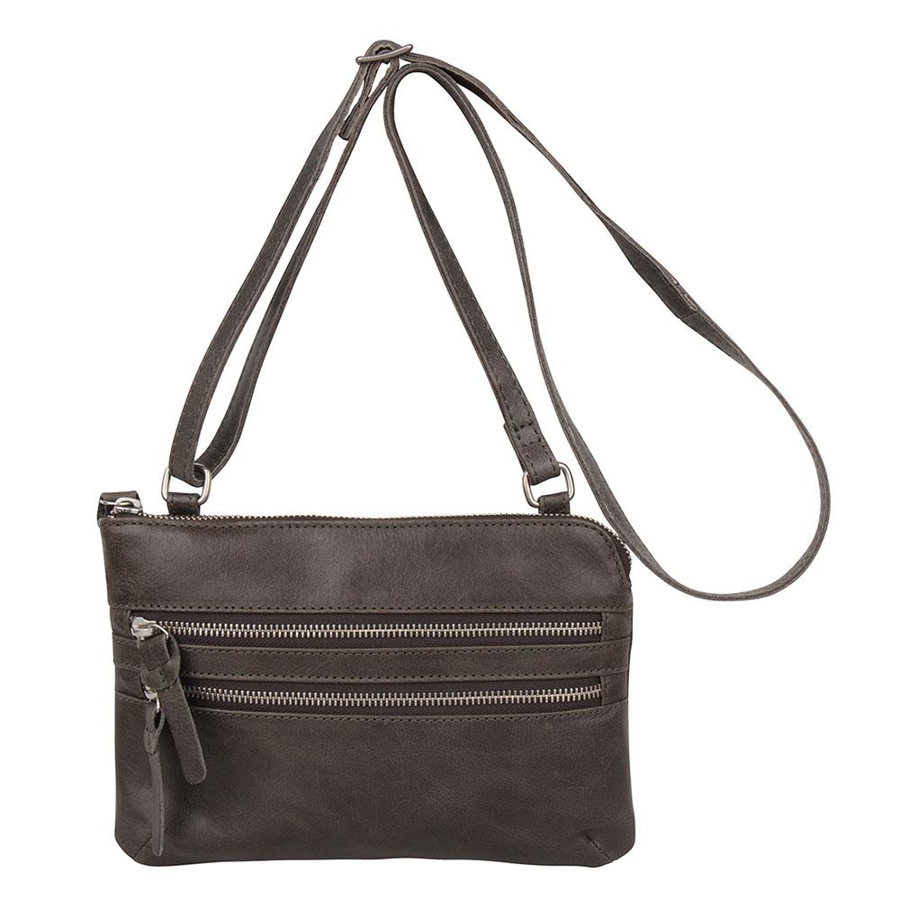 Cowboysbag Bag Tiverton Schoudertas Storm Grey 1677