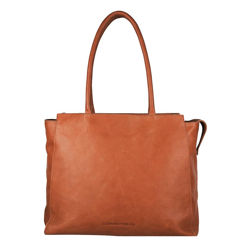 Cowboysbag Laptop Bag Evi 15.6 Schoudertas Cognac 2218