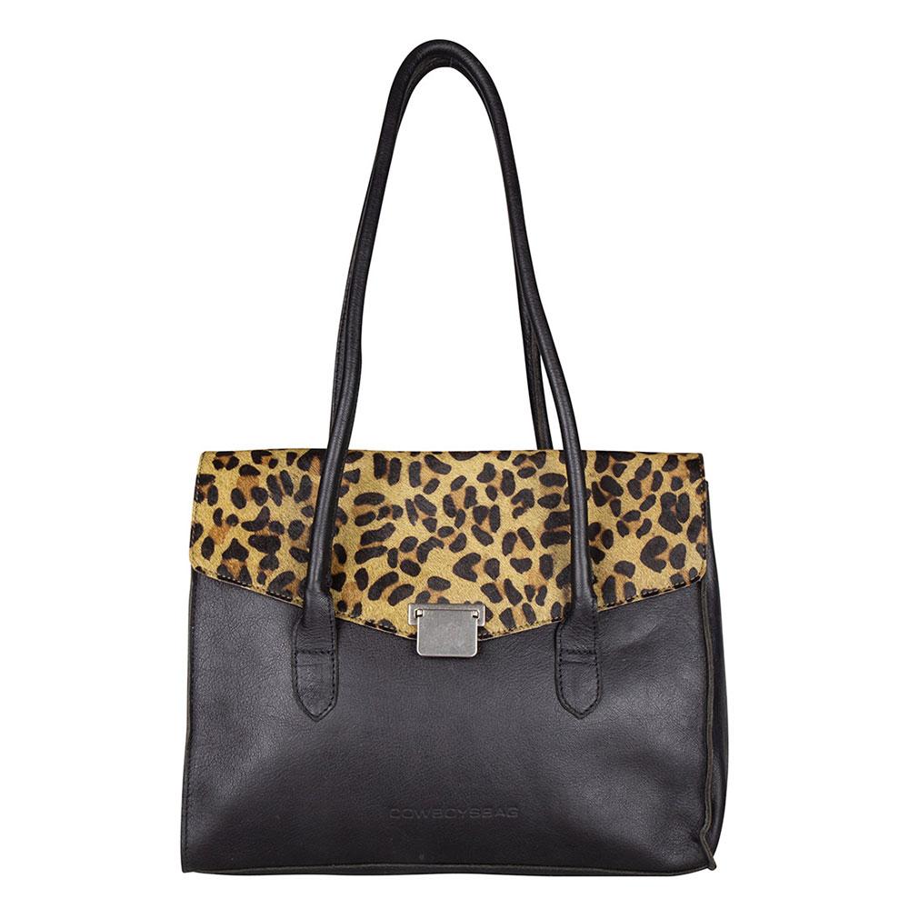 Cowboysbag Bag Boris x Bobbie Bodt Schoudertas Leopard 2226