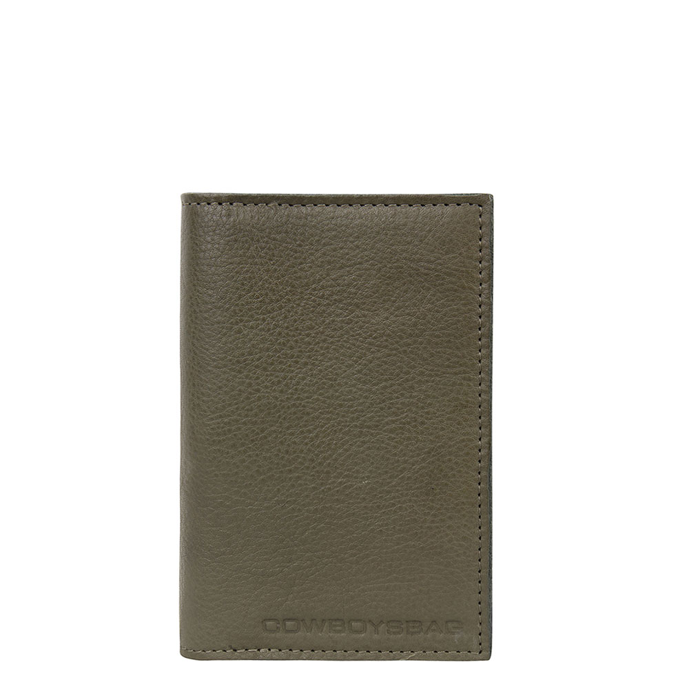 Cowboysbag-Paspoorthouders-Passport Holder Addison-Groen