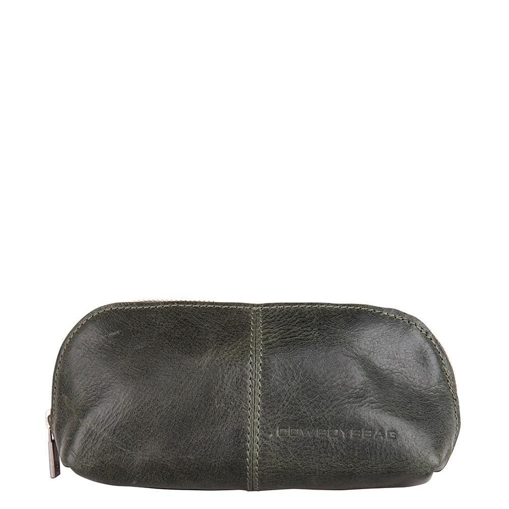 Cowboysbag Pencil Case Edon Dark Green