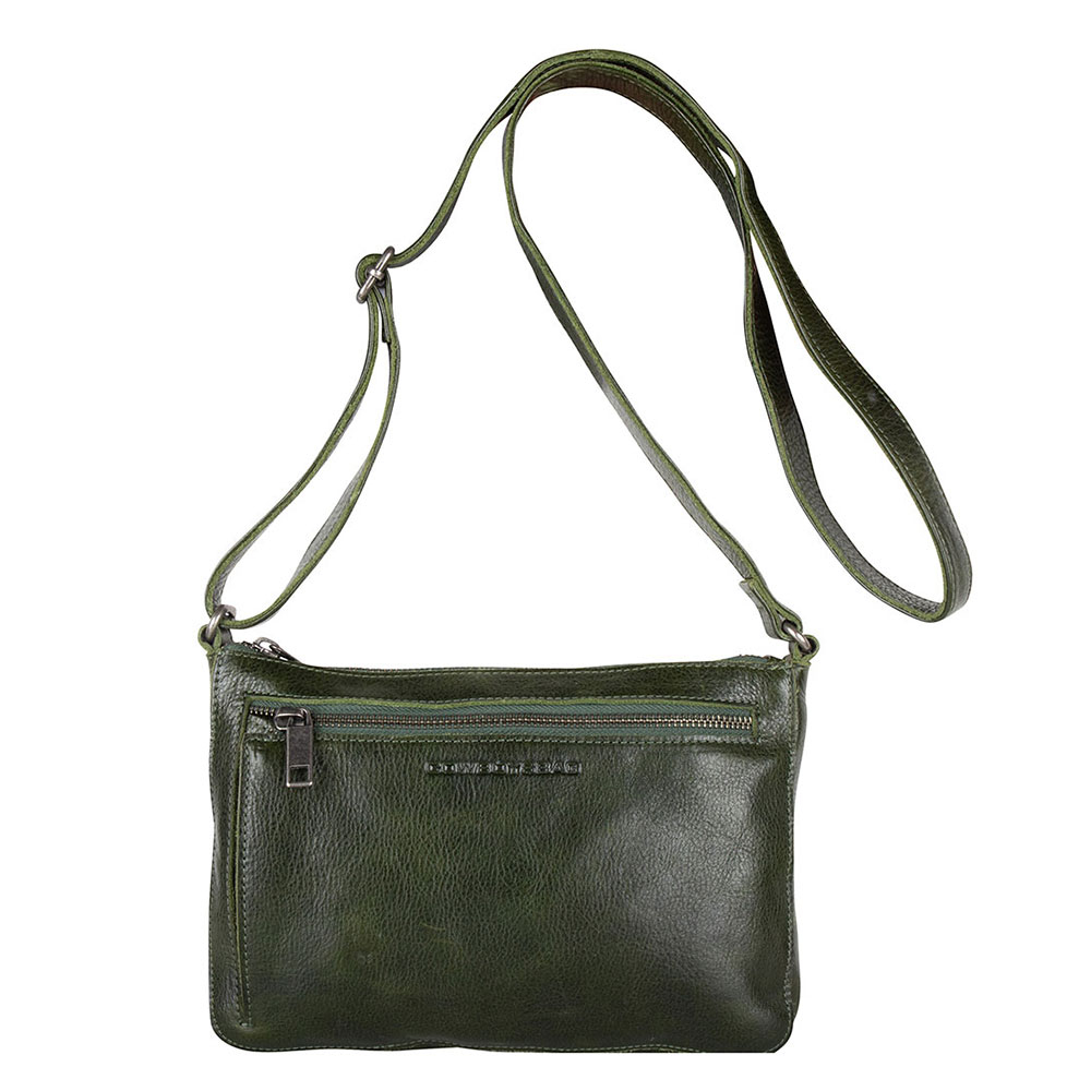 Cowboysbag Bag Huron Schoudertas Dark Green