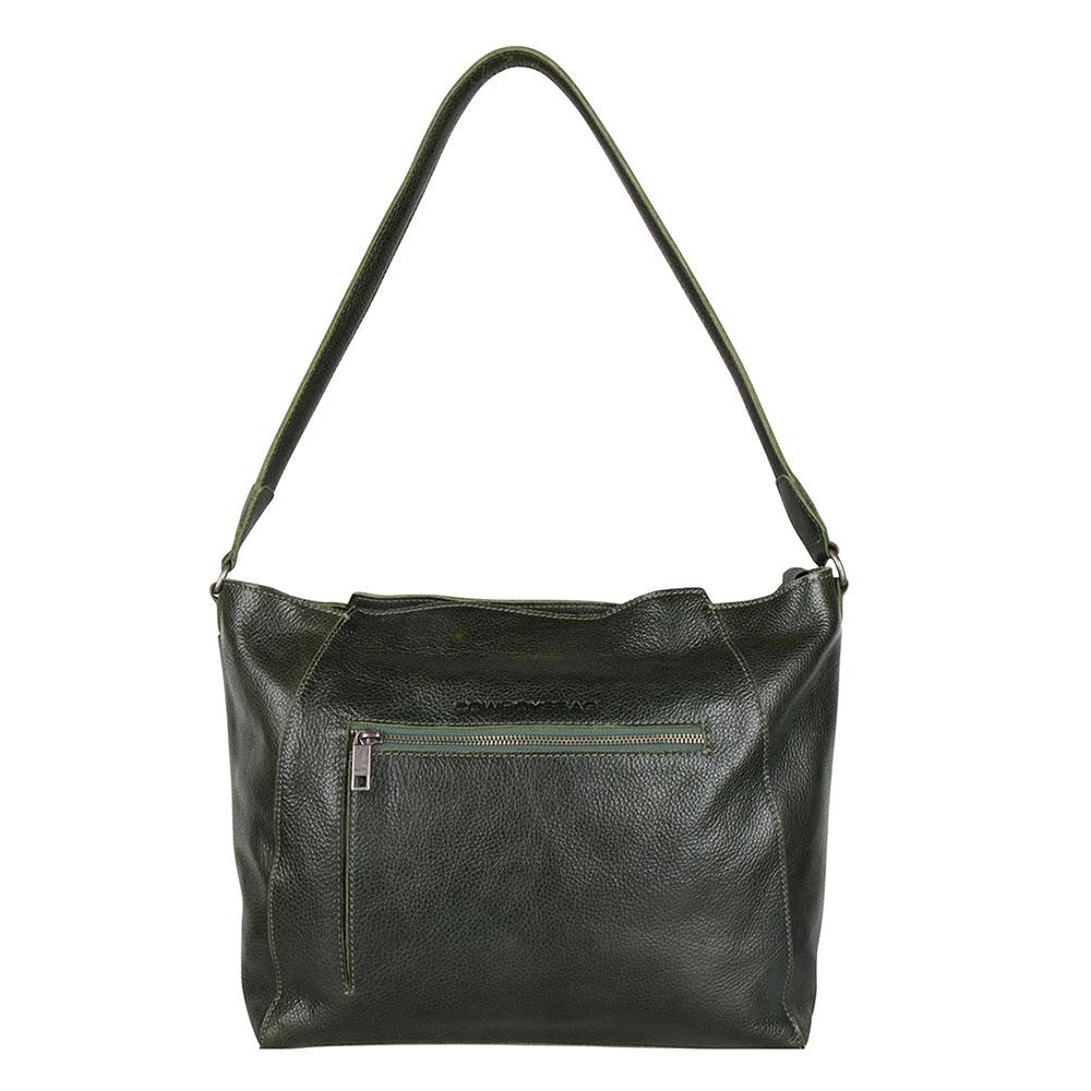Cowboysbag Bag Tiffin Schoudertas Dark Green