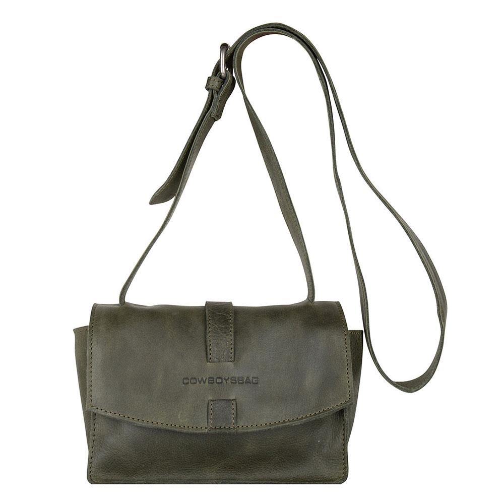 Cowboysbag Bag Grandy Schoudertas Forest Green 2208