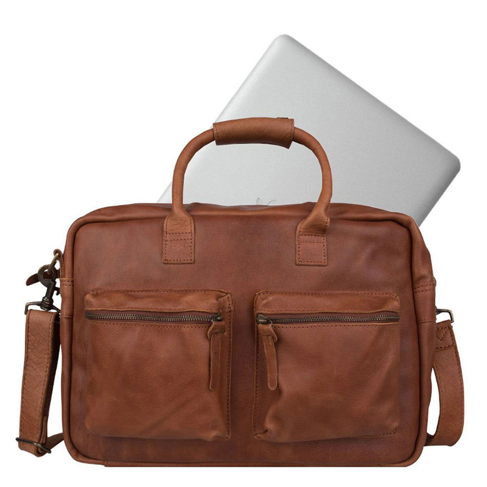 Cowboysbag The College Bag Schoudertas 1380 Cognac
