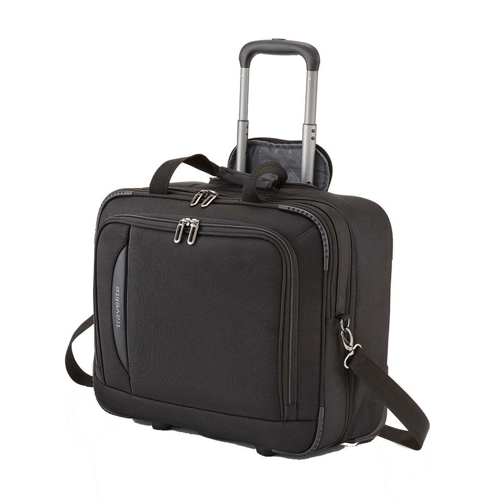 Travelite CrossLite Business Wheeler Black
