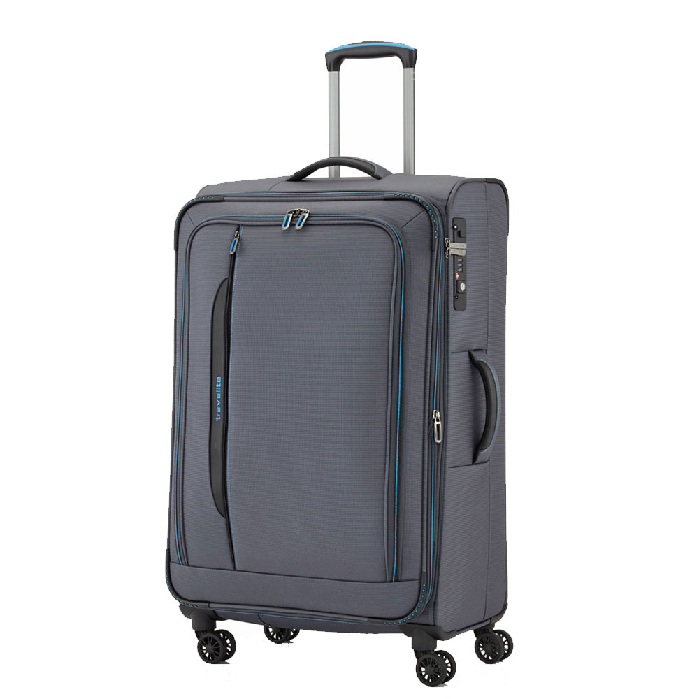 Travelite CrossLite 4 Wheel Trolley L Exp. Anthracite