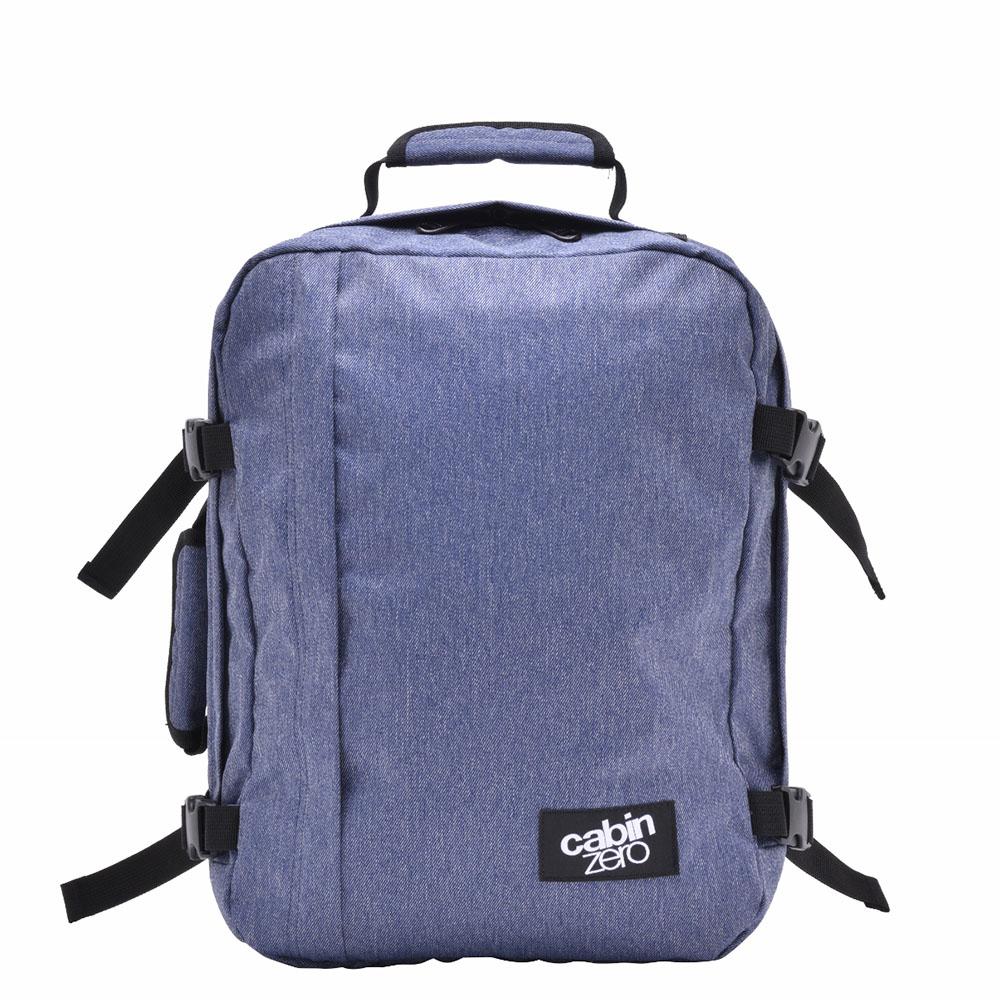 CabinZero Classic Mini 28L Ultra Light Cabin Bag Blue Jean