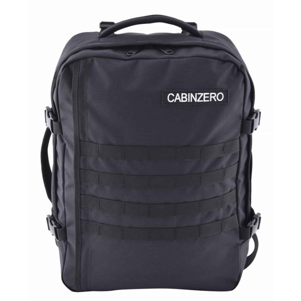 CabinZero Military 36L Lightweight Adventure Bag Absolute Black