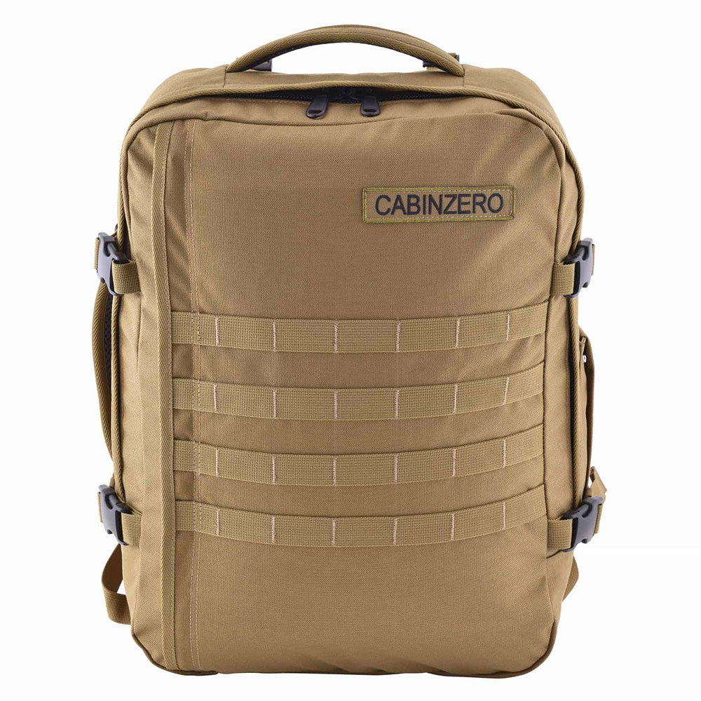 CabinZero Military 36L Lightweight Adventure Bag Desert Sand