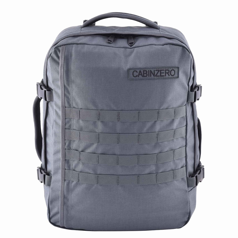 CabinZero Military 36L Lightweight Adventure Bag Military Grey