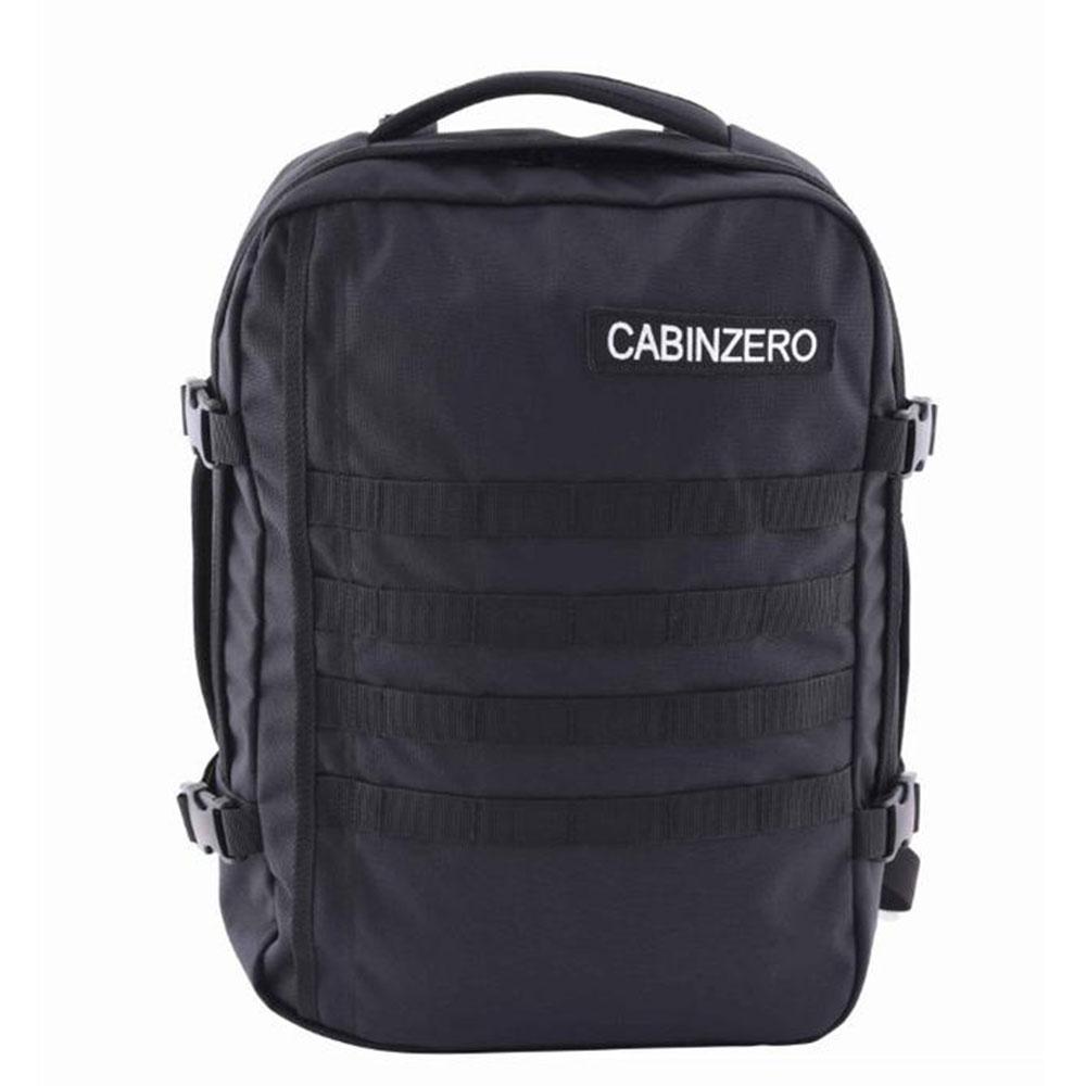 CabinZero Military 28L Lightweight Adventure Bag Absolute Black