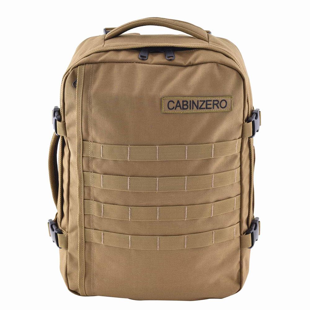 CabinZero Military 28L Lightweight Adventure Bag Desert Sand