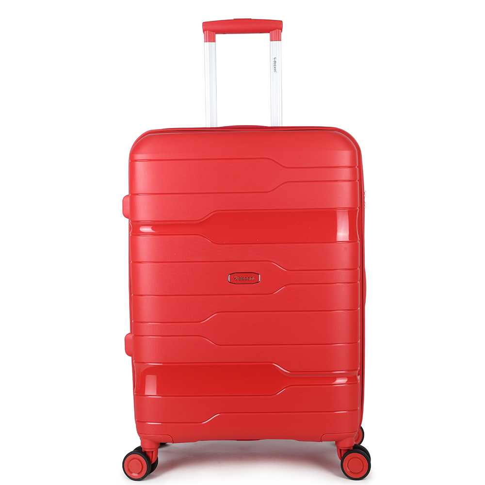 Decent One-City Medium Trolley 67 Red