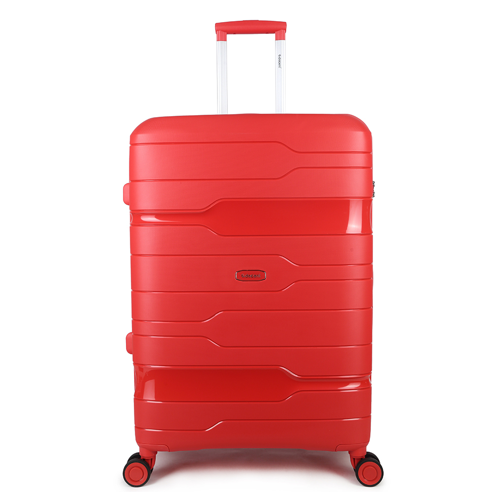 Decent One-City Large Trolley 76 Red