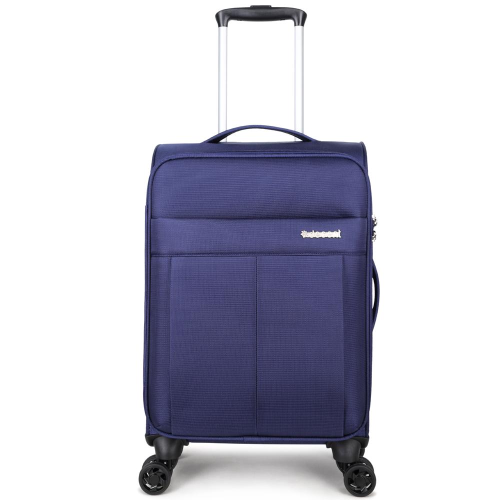 Decent D-Upright Handbagage Spinner 55 Dark Blue