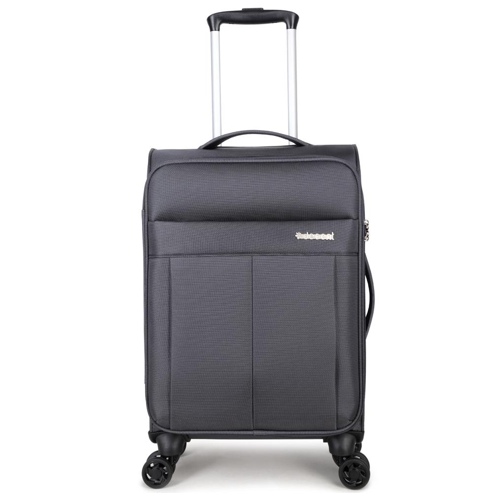 Decent D-Upright Handbagage Spinner 55 Grey