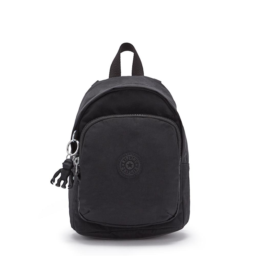 Kipling Delia Compact Small Backpack Black Noir