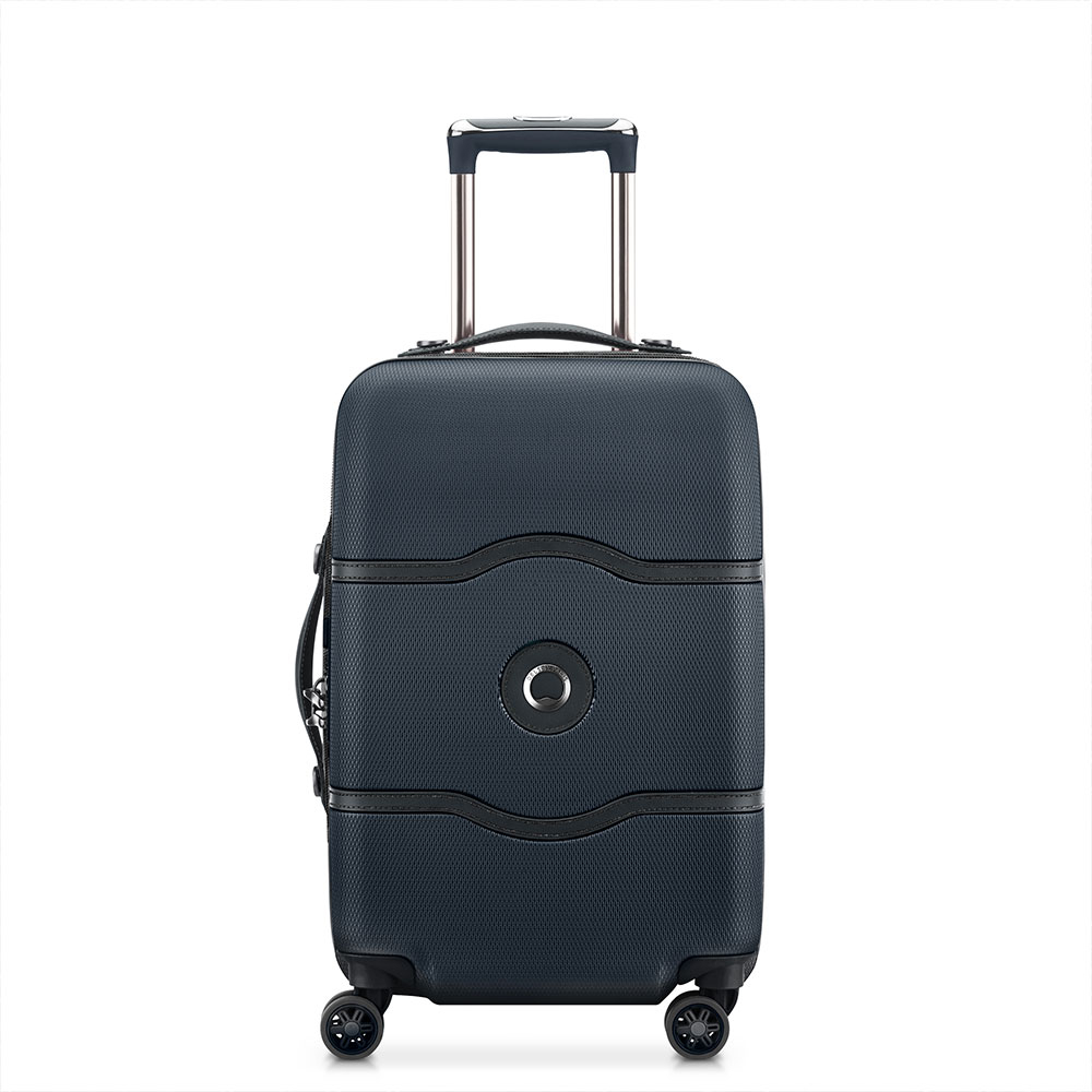 Delsey Chatelet Air Cabin Slim Trolley 4 Wheel 55 Black