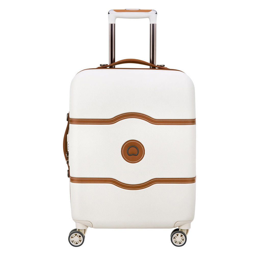 Delsey Chatelet Air 4 Wheel Slim Trolley 55 angora Harde Koffer