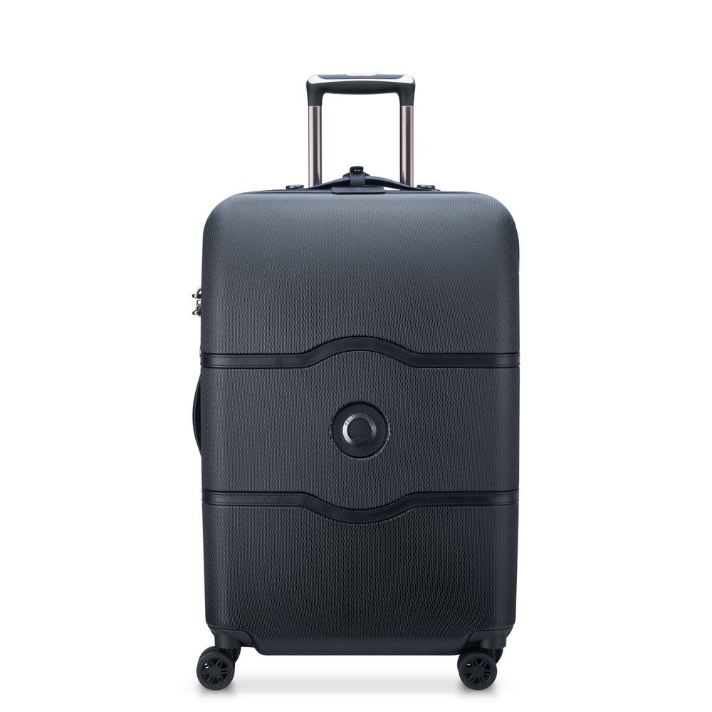 Delsey Chatelet Air Trolley 4 Wheel 67 Black