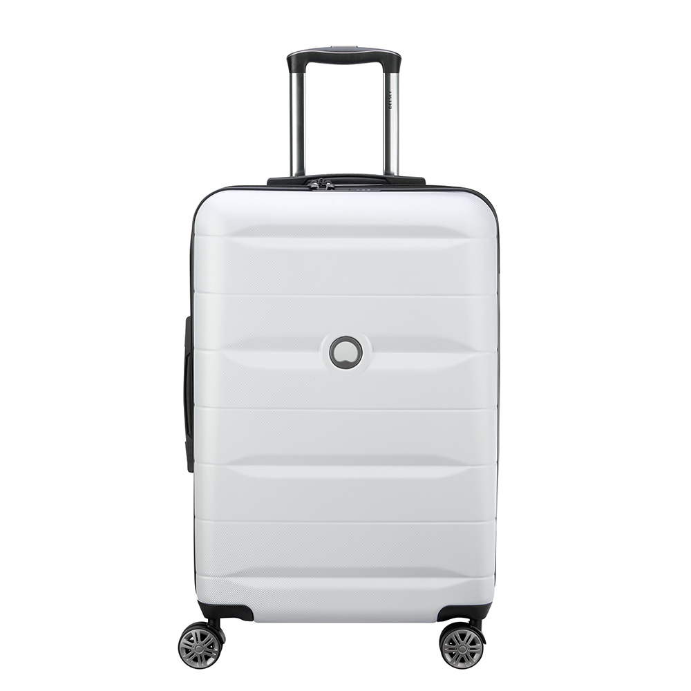 Delsey Comete 4 Wheels Trolley 67 Silver Grey