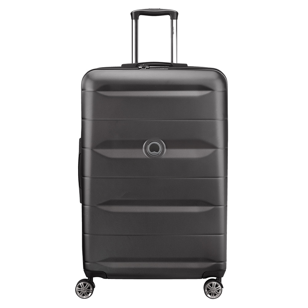 Delsey Comete 4 Wheels Trolley 77 Black