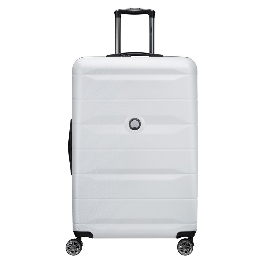 Delsey Comete 4 Wheels Trolley 77 Silver Grey