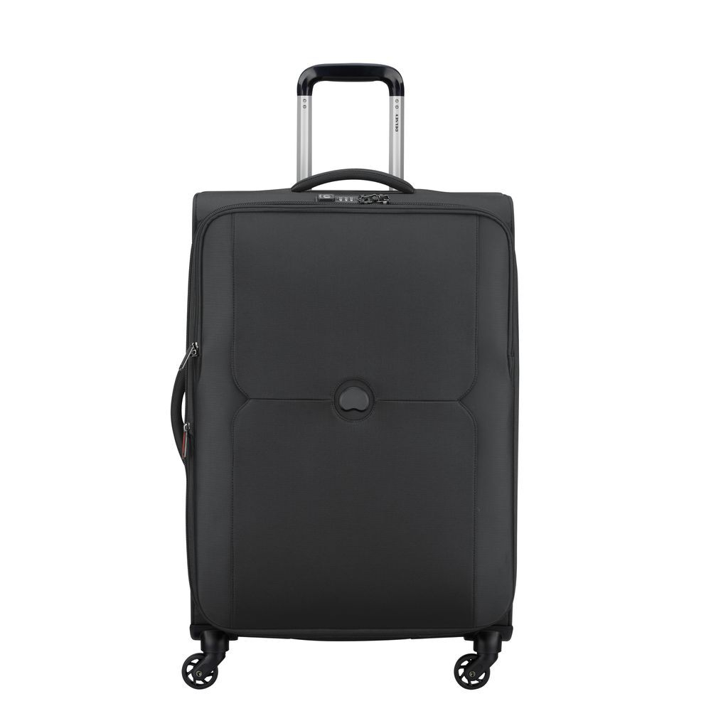 Delsey Mercure 4 Wheel Spinner 70 Expandable Black