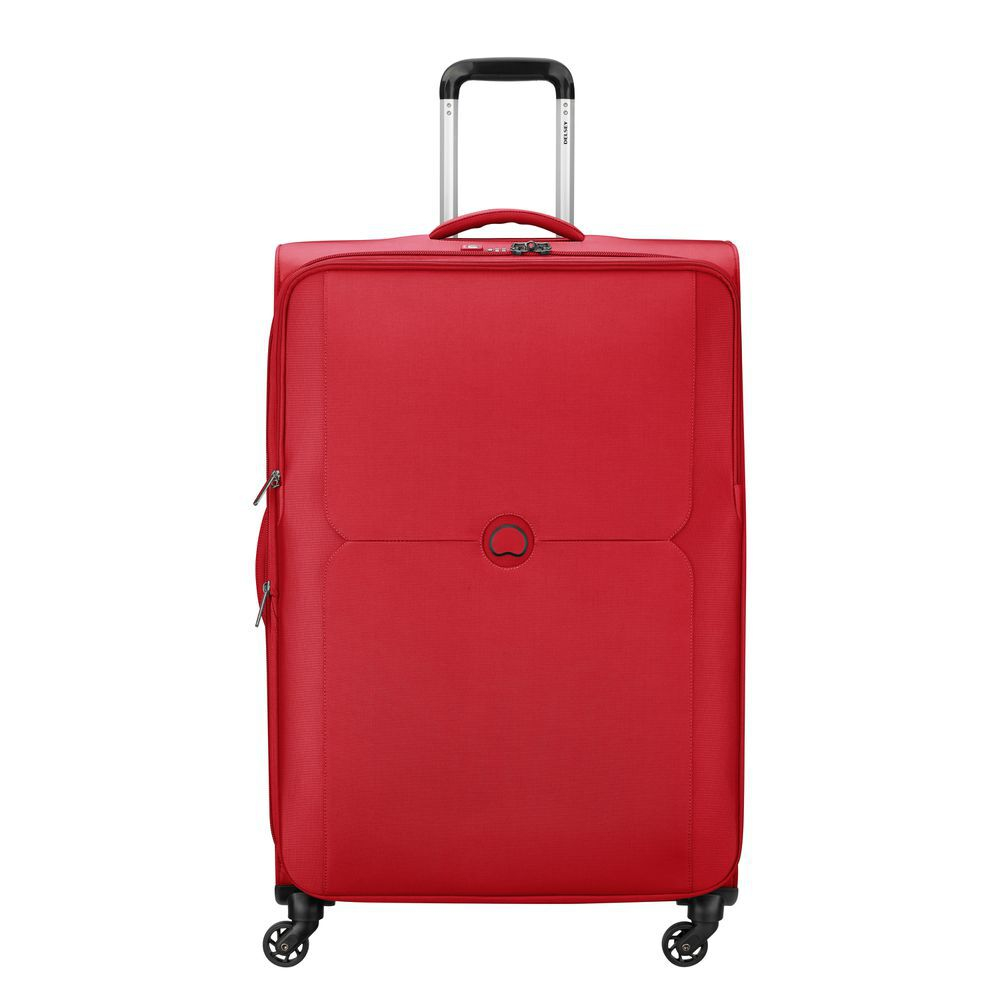 Delsey Mercure 4 Wheel Spinner 78 Expandable Red