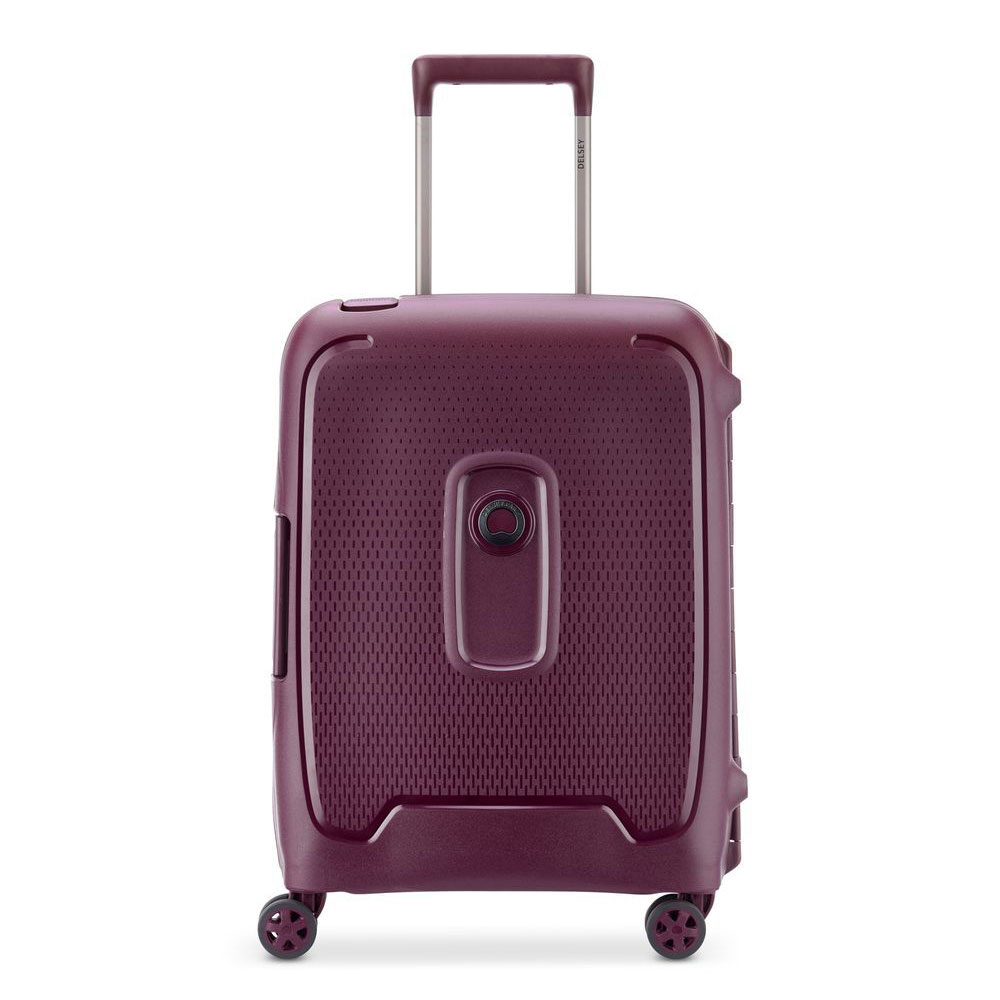 Delsey Moncey 4 Wheel Slim Cabin Trolley 55 Purple