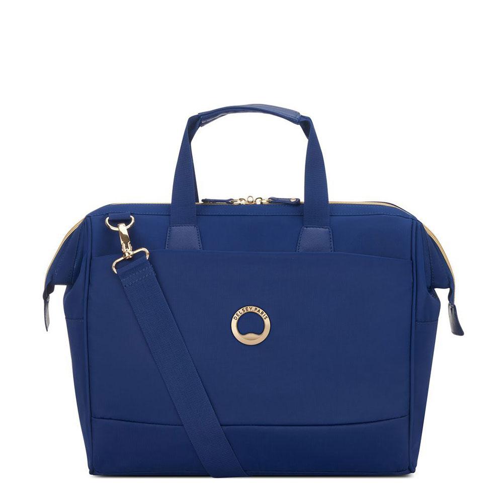 Delsey Montrouge 1-CPT Laptoptas 14'' Blue