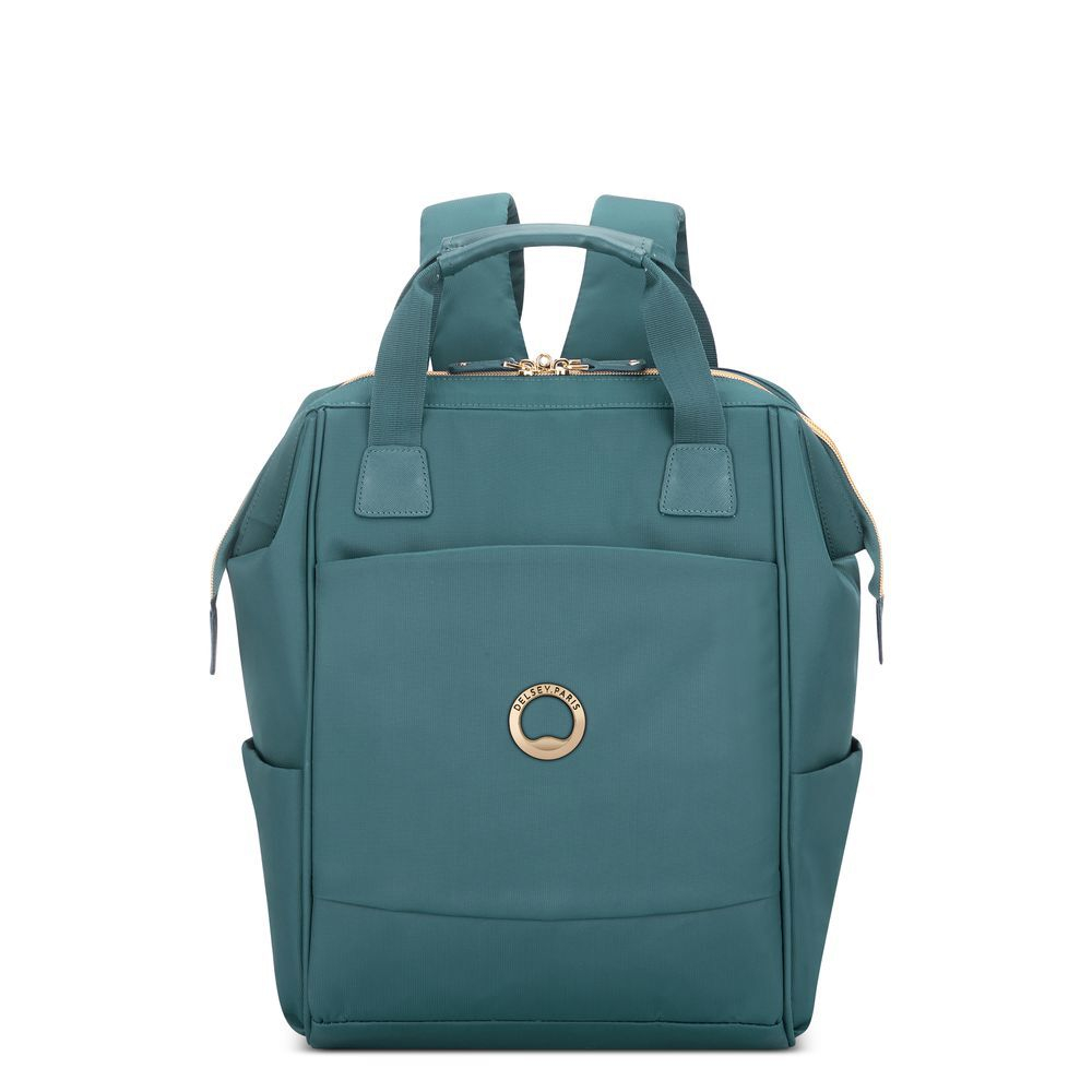 Delsey Montrouge 1-CPT Backpack M 13.3'' Green