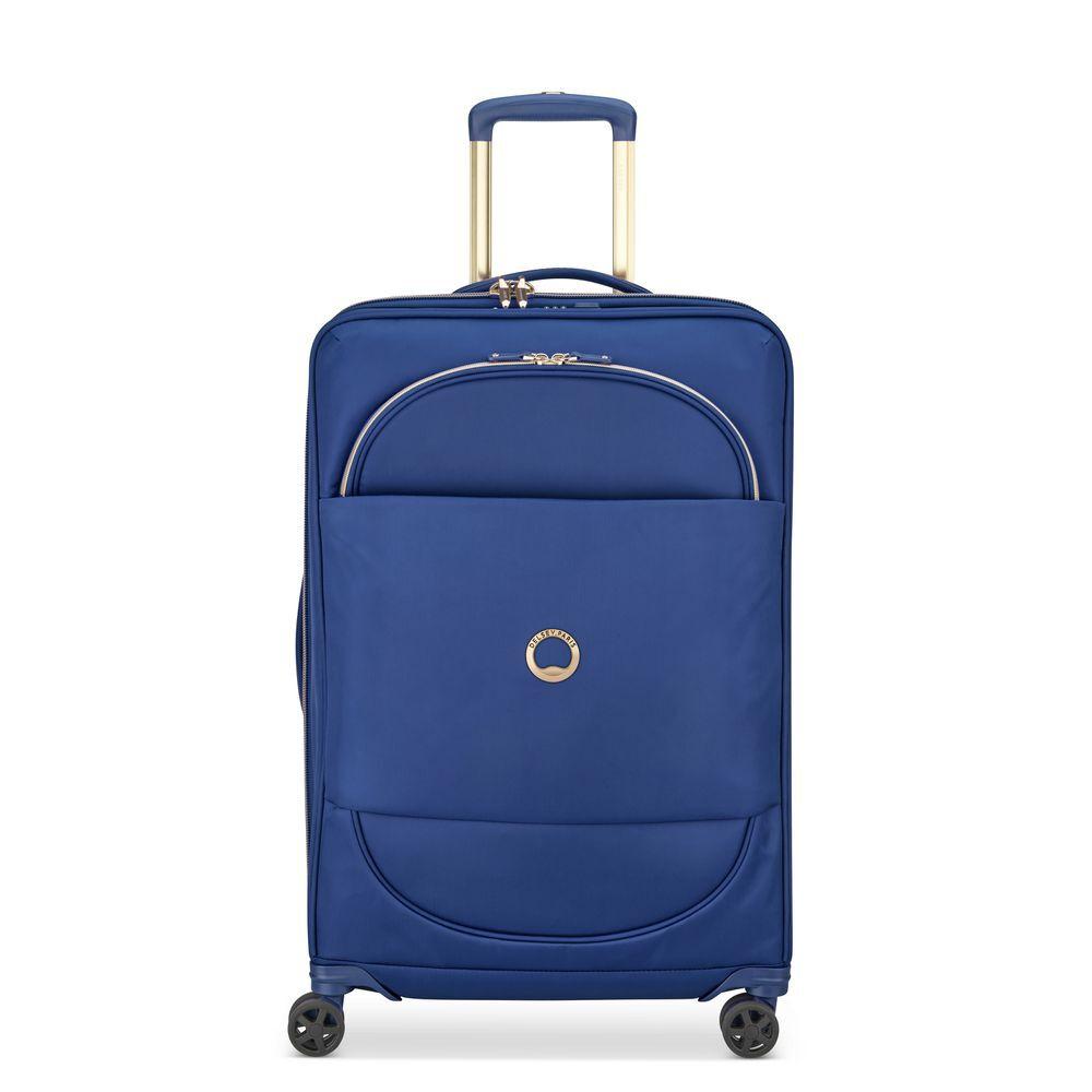 Delsey Montrouge Trolley Case 4 Wheel 69 Expandable Blue