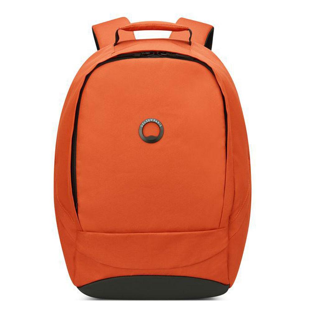 Delsey Securban 1-Compartment Laptop Backpack 13.3 Orange