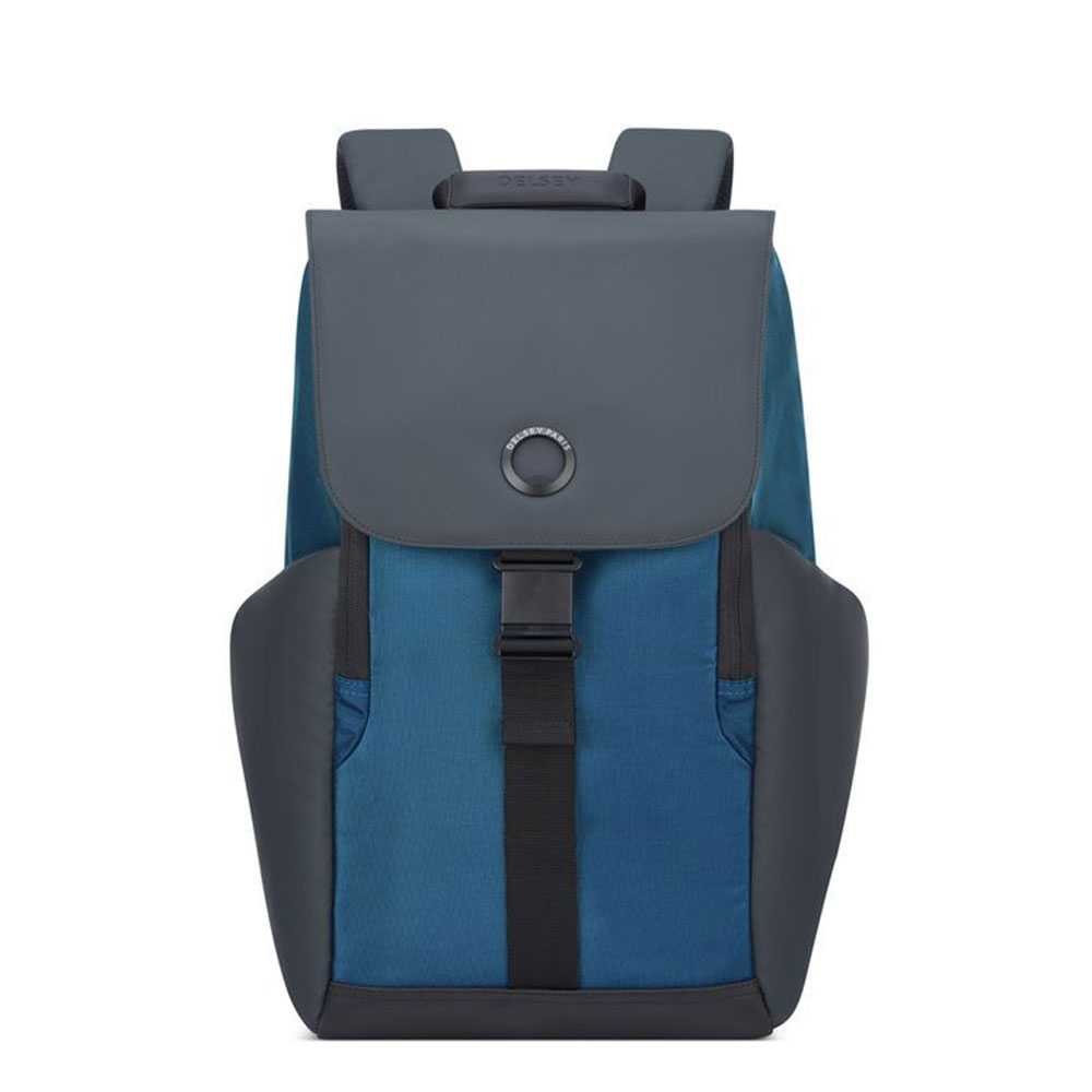 Delsey Securflap 1-Compartment Laptop Backpack 15.6