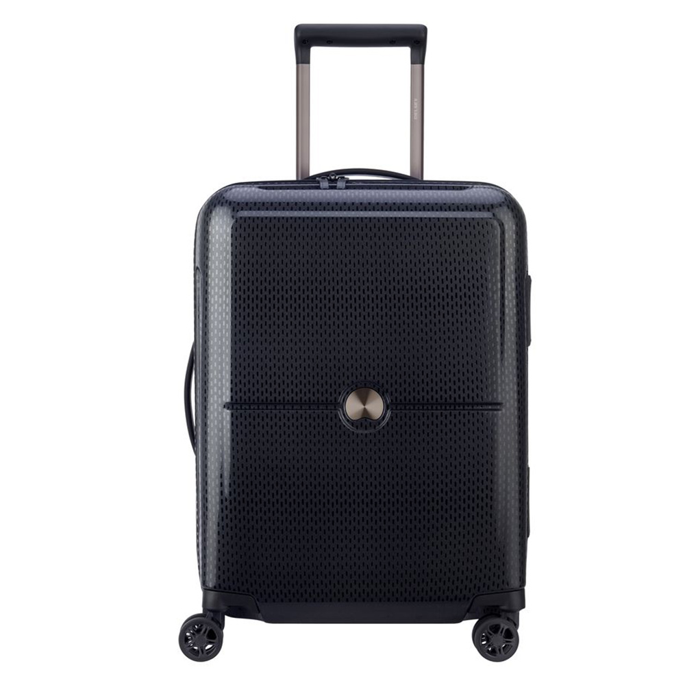 Delsey Turenne Cabin Trolley Slim 4 Wheel 55 Black