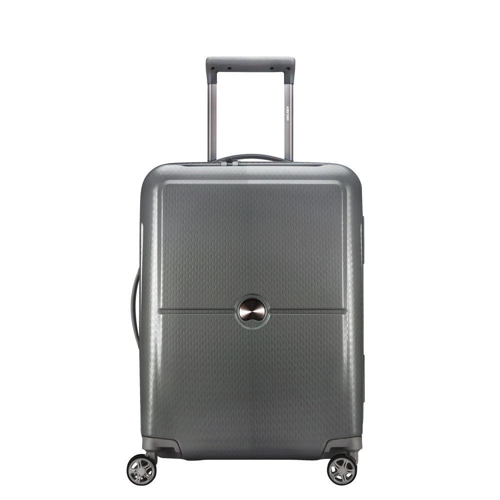 Delsey Turenne 4 Wheel Trolley 55 silver Harde Koffer