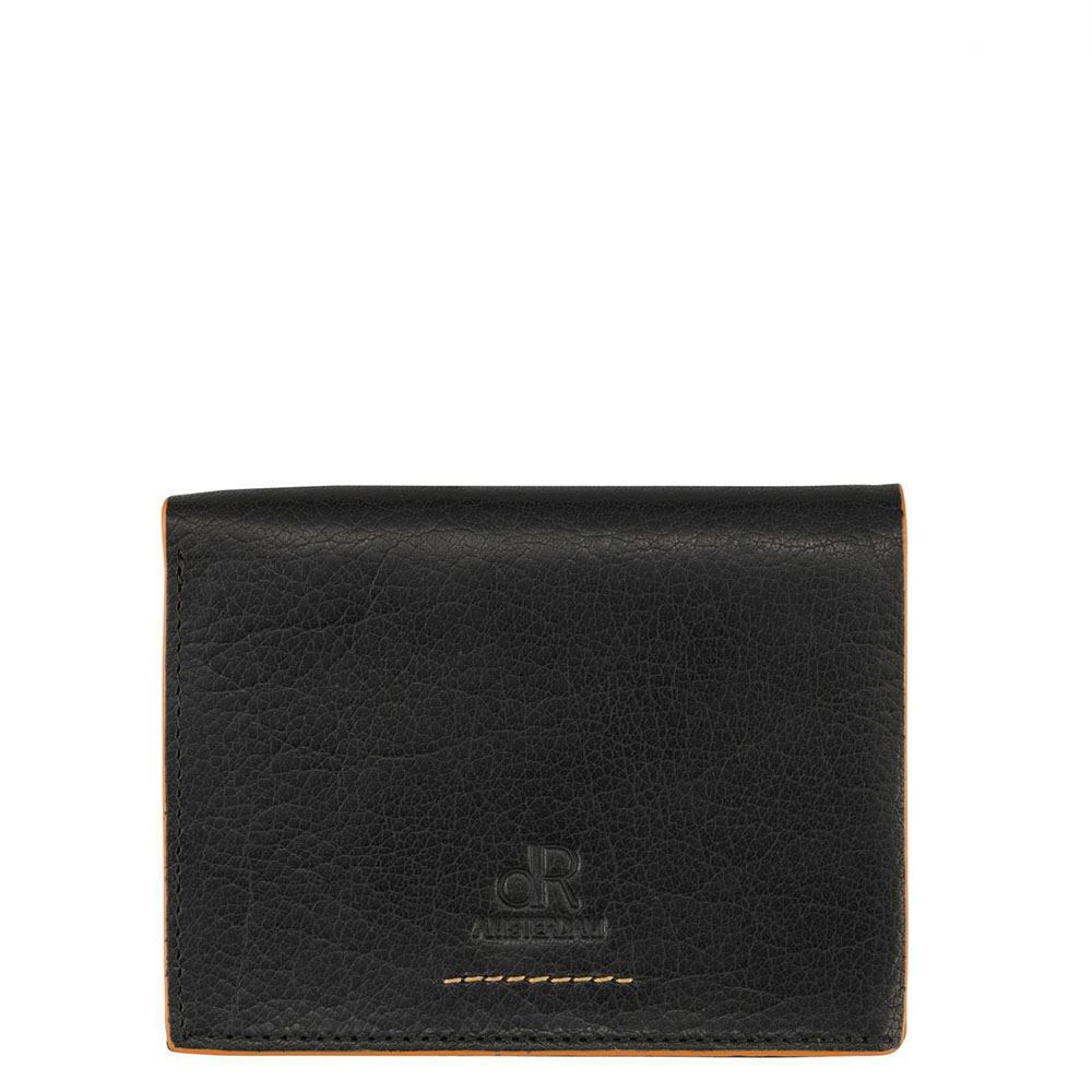 dR Amsterdam Icon Wallet Secr. Comp. Black 91513