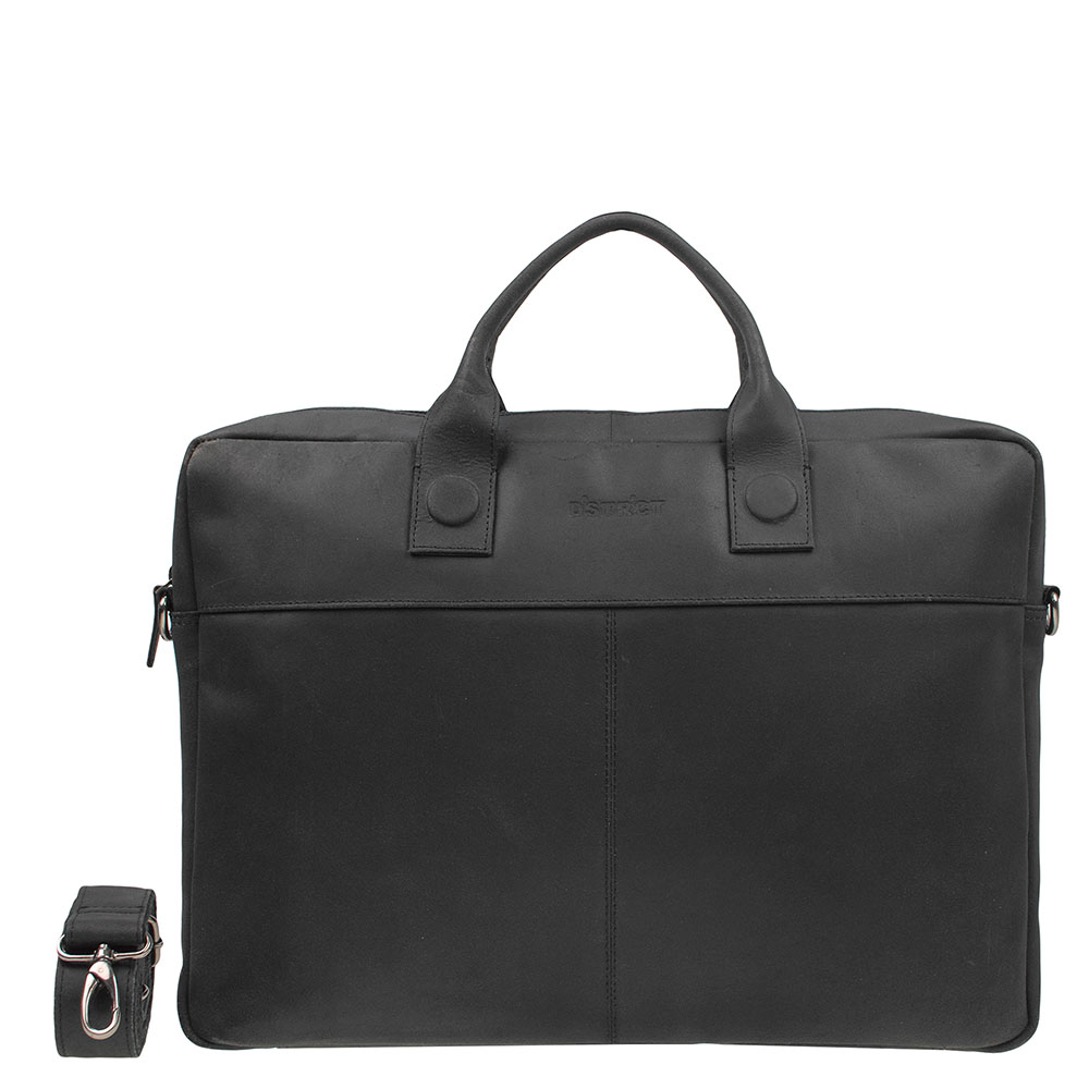 DSTRCT Fletcher Street Business Laptoptas 17'' Black 016720
