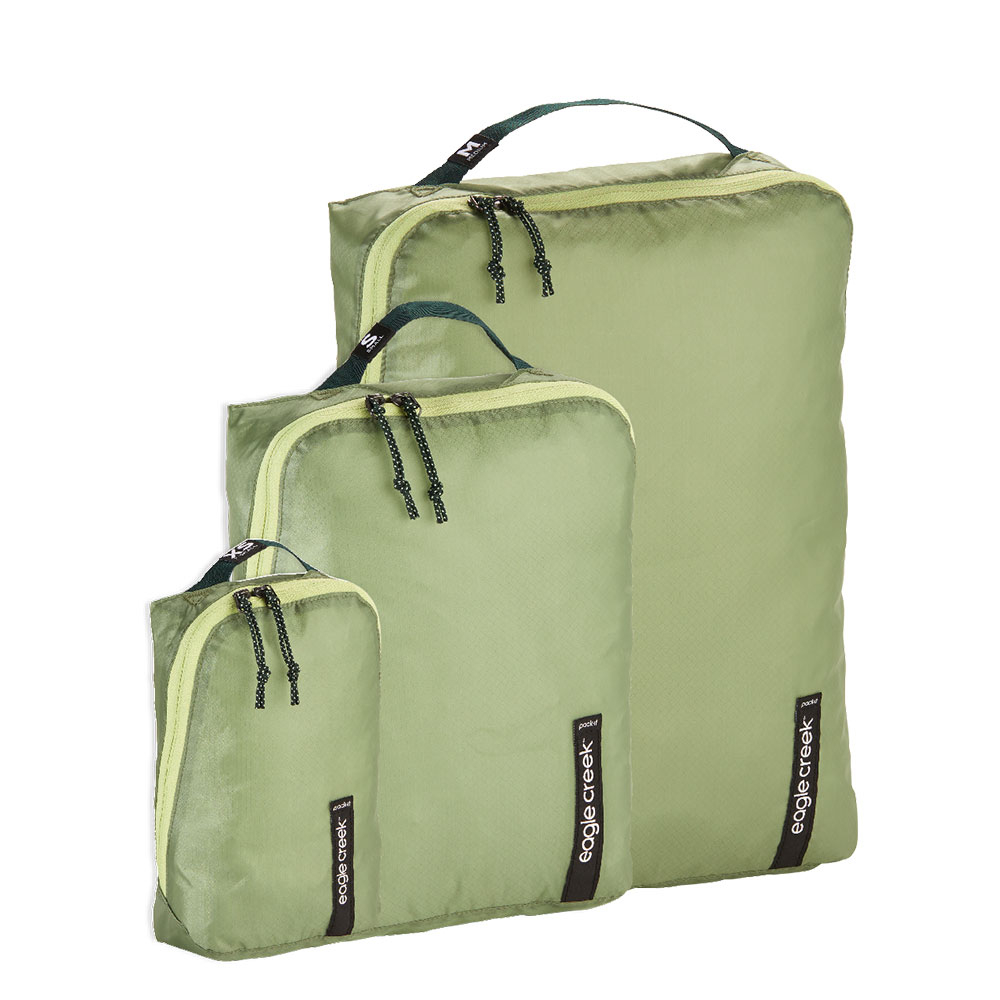 Eagle Creek Isolate Cube Set XS/S/M Mossy Green