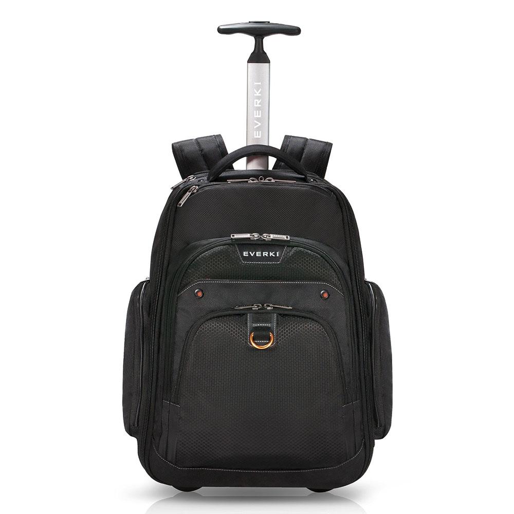 Everki Atlas Wheeled Laptop Backpack 13-17.3 Black