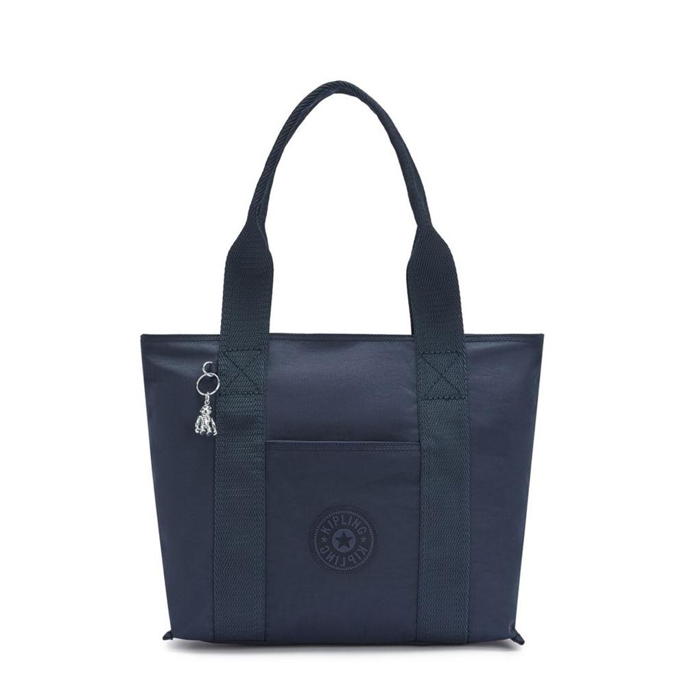 Kipling Era S Shopper Rich Blue
